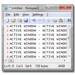 How to make a screenshot of the active window only