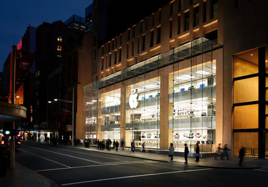 Apple store George Street Sydney