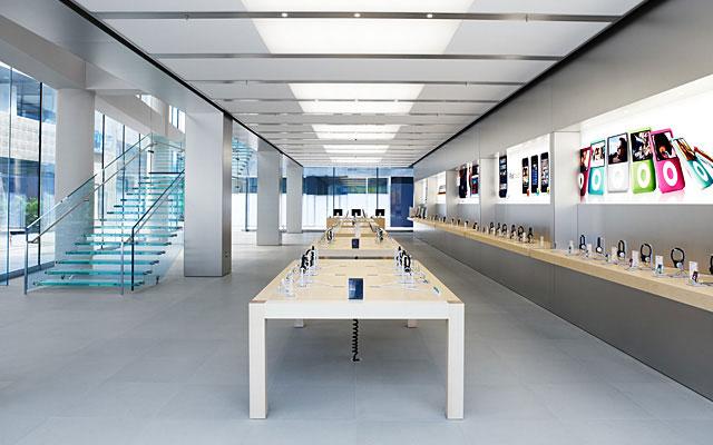 Inside Apple store Beijing