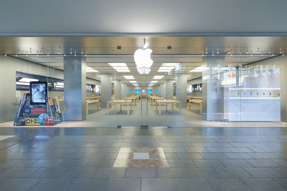 Apple stores around the world darn office - La maquinista centre comercial ...