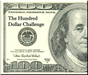 The 100 Dollar Challenge