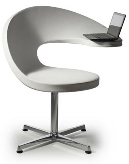Superieur Wave Chair With Laptopdesk