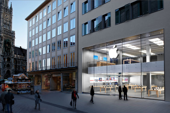 Apple store Munich Rosenstrasse