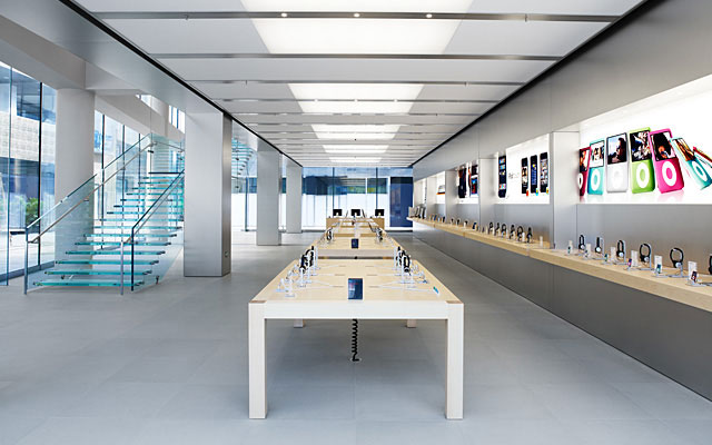 Inside Apple store Beijing