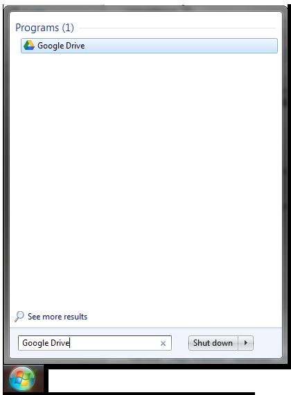 Start Menu Search box