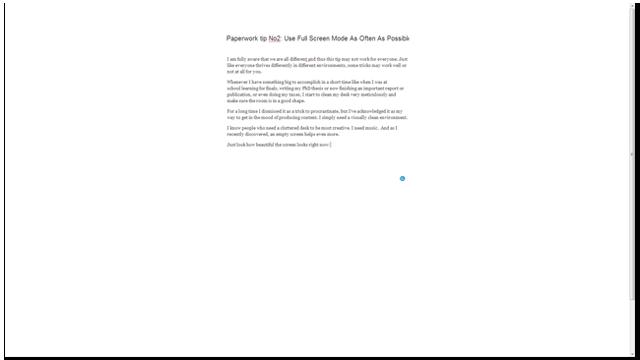 Wordpress-Full-screen